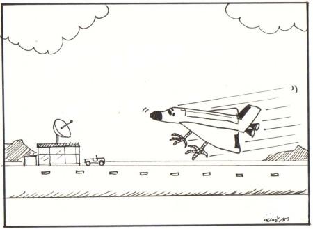 friartoon_shuttle-landing