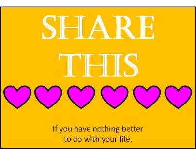 Share this hearts
