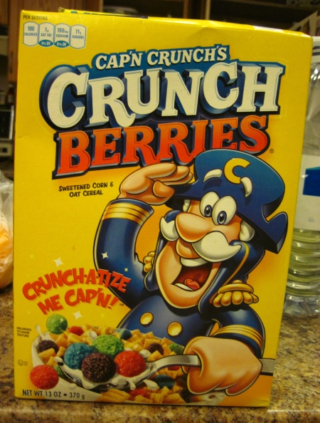 1.  Cereal Crunch Berries IMG_3376
